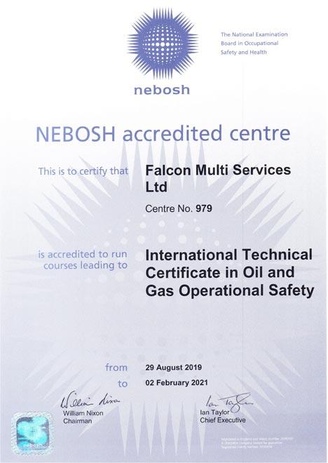 Nebosh Certi Oil gas