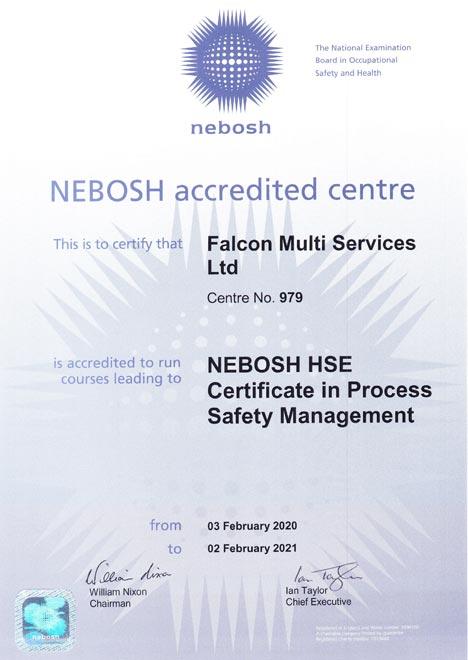 Nebosh Certi Safety Management