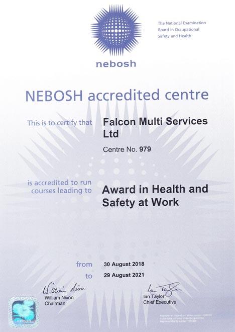 Nebosh HSW
