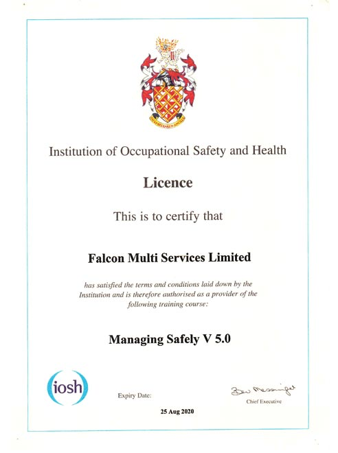 Safety And Health Licence